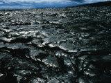 Lava Landscape of Big Island, Hawaii, USA Photographic Print by Eric Wheater