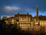 St Andrew's House and Monuments on Calton Hill, Edinburgh, United Kingdom Photographic Print by Jonathan Smith