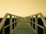 Bridge at Long Island Beach, NY Photographic Print by Lonnie Duka
