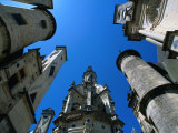 Towers of Chateau De Chambord, Chambord, France Photographic Print by Martin Moos