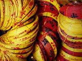 Chinese Lanterns at Kek Lok Si Temple, Georgetown, Penang, Malaysia Photographic Print by Richard I'Anson