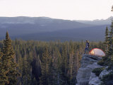 Camper's Tent, High Uintas, UT Photographic Print by Cheyenne Rouse