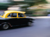 Calcutta Taxi, Kolkata, West Bengal, India Photographic Print by Greg Elms