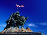 Statue at Arlington National Cemetery Arlington, Virginia, USA Fotoprint van Rob Blakers