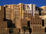 Exterior of Apartment Buildings, Yemen Photographic Print by Bethune Carmichael