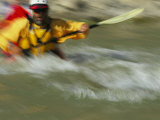 Man in Kayak, San Juan River, Colorado Photographic Print by David Edwards
