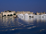 Lake Pichola and City, Udaipur, Rajasthan, India Photographic Print by Dallas Stribley