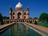 Safdarjang's Tomb, Built in 1753-54, Delhi, India Photographic Print by Anders Blomqvist