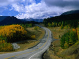 Road to Kananskis Country, Canada Photographic Print by Rick Rudnicki