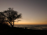Big Island of Hawaii - Sunset from Beach Photographic Print by Keith Levit
