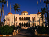 The Former Palace of the Late King Idris Now Known as the People's Palace, Tripoli, Libya Photographic Print by Doug McKinlay