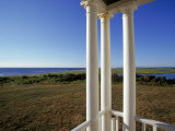 Coast Guard Station Porch, Cape Cod Ns, MA Photographic Print by Jeff Greenberg