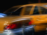 Yellow Taxis, New York City, New York, USA Photographic Print by Ray Laskowitz