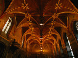 Gothic Chamber of Bruges Town Hall, Bruges, Belgium Photographic Print by Martin Moos