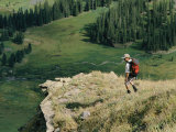 Hiking in the San Juan Mountains Photographic Print by Kate Thompson