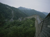 An Elevated View of Part of the Great Wall of China Photographic Print by Jodi Cobb