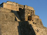 A Detailed View of the Magician Pyramid at Uxmal Photographic Print by Kenneth Garrett