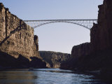 View of Navajo Bridge Fotografisk tryk af W. E. Garrett