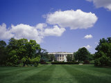 The White House on a Sunny Day Photographic Print by Raul Touzon