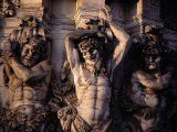 Satyr Pilasters Decorating the Exterior of the Zwinger Museum Photographic Print by Gordon Gahan