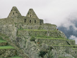 Inca Ruins at Machu Picchu Photographic Print by Mattias Klum