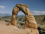 Delicate Arch in Arches National Park Photographic Print by Walter Meayers Edwards
