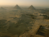 Aerial of Giza Photographic Print by Kenneth Garrett