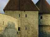 A Section of Wall Around Tallinn Photographic Print by Sisse Brimberg
