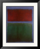Earth and Green Print by Mark Rothko