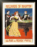 Billards St. Martin Posters by Maurice Feuillet