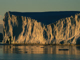 Sunlight on an Iceberg Photographic Print by Maria Stenzel