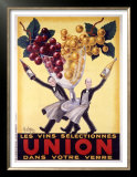 Les Vins Selectionnes Union Prints by Robys (Robert Wolff) 