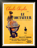 Chaplin Le Dictateur Prints by Pierre Bouvry