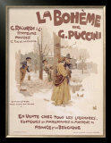La Boheme Prints by Adolfo Hohenstein