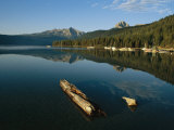 Calm Water with Submerged Log on a Mountain Lake Photographic Print by Michael S. Lewis