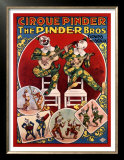 Cirque Pinder Prints by Louis Galice