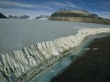 Antarcticas Taylor Glacier at 300 A.M Photographic Print by Maria Stenzel