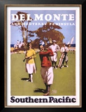 Del Monte, Southern Pacific Poster by  Lorand