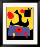 Femme Assise Poster by Joan Miró