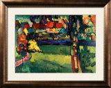 Murnau, 1909 Prints by Wassily Kandinsky