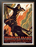 FDNY Midnight Alarm Posters by Manuel Delosas