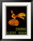Cognac Albert Robin Print by Leonetto Cappiello