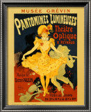 Pantomines Lumineuses Prints by Jules Chéret