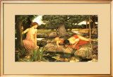 Echo and Narcissus, c.1903 Posters by John William Waterhouse