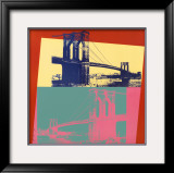 Brooklyn Bridge, 1983 Posters by Andy Warhol