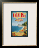Catalina by Air Posters by Kerne Erickson