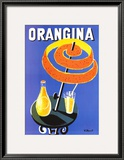 Orangina Art Print by Bernard Villemot