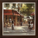 Bistro Waiters Posters by Brent Heighton