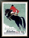 Horse Jumper Show Prints