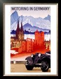Motoring in Germany Prints